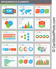 Detail infographic vector illustration presentation World...