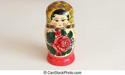 Matryoshka dolls from the inside ta