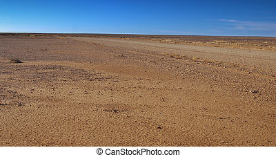 Australian outback: the desert. - it may be a land of...
