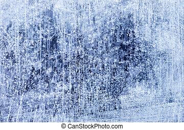hiver, résumé,  texture, fond, glace
