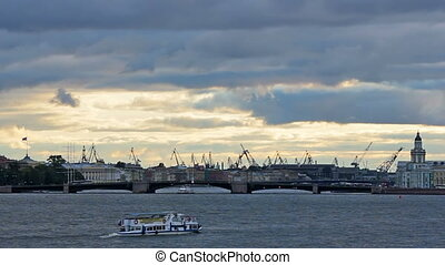 Admiralty Shipyard near Neva River - The Admiralty Shipyard...