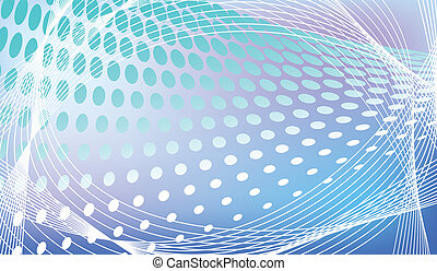 abstract halftone background in vector