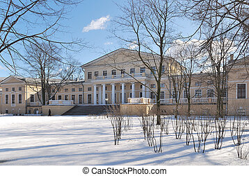 St. Petersburg. Yusupov Palace in the style of classicism