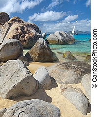Baths on Virgin Gorda - The famous Baths on Virgin Gorda,...