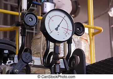 Manometer pressure