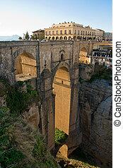 Ronda - Puente Nuevo in Ronda, Malaga, Spain