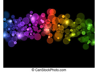 Abstract bright background. Vector illustration. Eps10