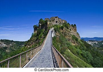 Tuff -stone village Civita di Bagnoreggio