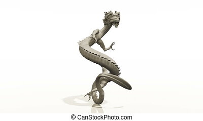 dragon - image of dragon with white background