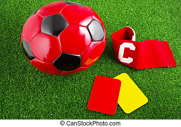 accesory for the soccer play