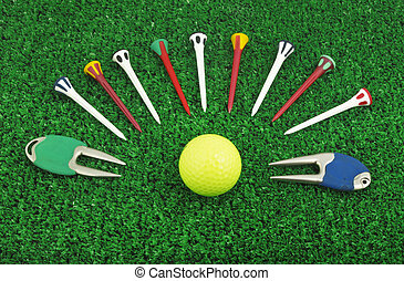 Photo of a golf set accessory