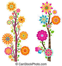 floral trees - sweet floral trees