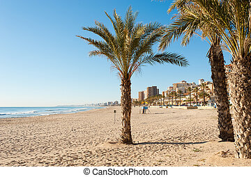 Costa Blanca beach