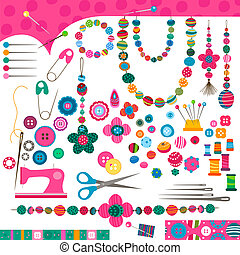 sewing set - sewing craft set