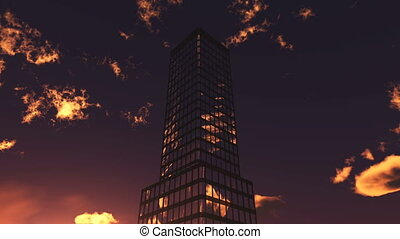 buildings  - image of high-rise buildings