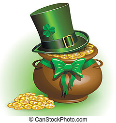St Patricks Day - abstract illustration to the day of saint...