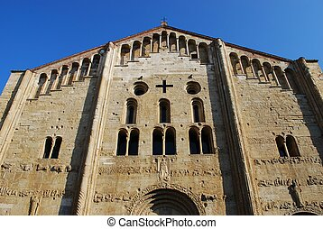 St. Michele basilica church, Pavia - St. Michele basilica...