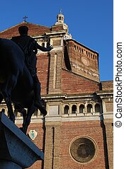Pavia cathedral, Italy