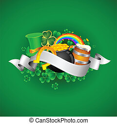 Saint Patrick's Day - illustration of Saint Patrick's Day...