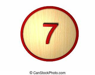 Número, madeira, Jogo, Bingo