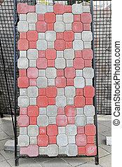 Pavement tiles - Concrete tiles and bricks for pavement...