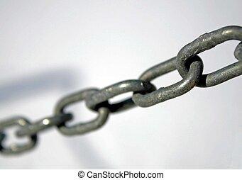 robusto, Acero, anillos, entre, Ellos, todos, juntos, forma,...