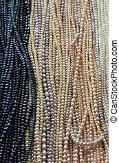 Pearls - pearl balls necklace pattern texture for jewellery...