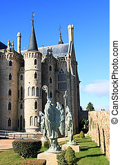 Gaudi palace (Astorga, Spain)
