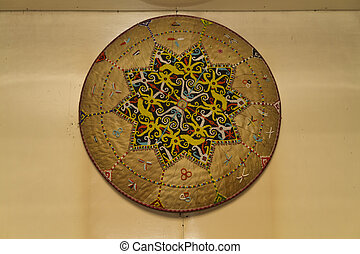 Sarawak Beadcraft - A Sarawak beadcrraft on display on the...