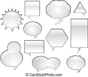Comic Book Speech Balloons
