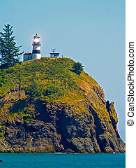 Lighthouse - Cape Disappointment WA USA - Lighthouse at Cape...