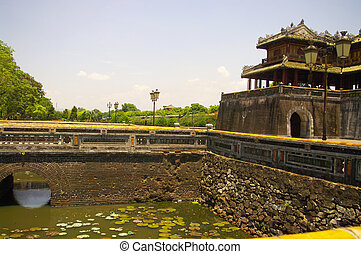 Main gate of the imperial city - South Gate of the imperial...