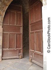 Wheel  door