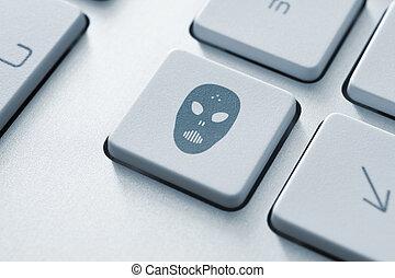ataque,  raiders, botão