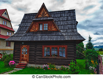 Traditional House in the High Tatra mountains, Poland