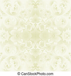 bright background with floral ornaments