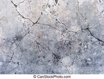 grunge damaged concrete wall surface in gray , beige and...