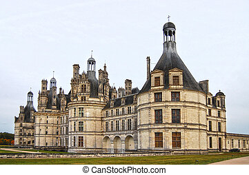 Chambord - the  french medieval castle (Loire Valley)