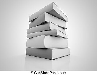 Books  - Large stack of books