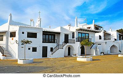Binibeca, Balearic Islands, Spain