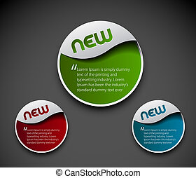 advertisement labels stickers - Design of advertisement...