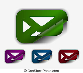 email icon web design