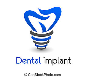 dental icon in vector format very easy to edit design
