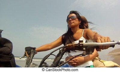 Motorbike Trip, Couple