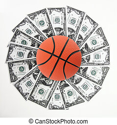Basket and money - Basket and money