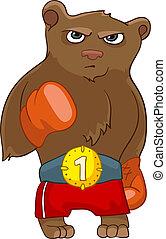Cartoon Character Bear