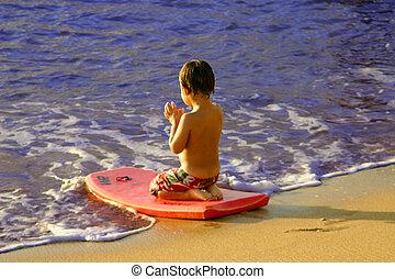 surfar, oração