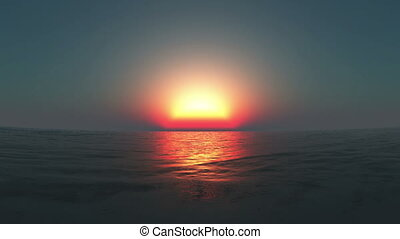 horizon - sunrise from horizon