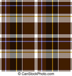 Autumn Tartan Cloth Seamless Pattern - Illustration of...