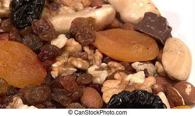 Nuts, dried fruit